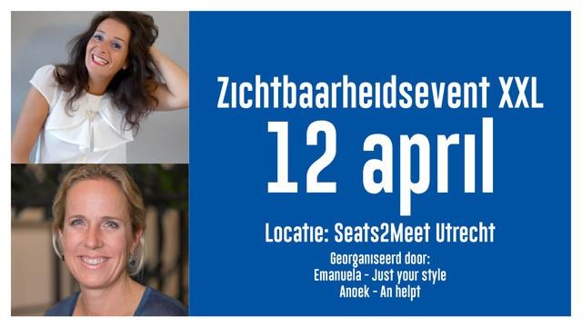 Zichtbaarheidsevent XXL Utrecht 12 april 2019